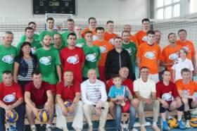 В Смоленске прошел матч звезд волейбола