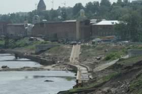 Новый подрядчик обещает достроить набережную Днепра к юбилею Смоленска