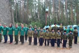 В Смоленской области прошел военно-патриотический слет «Отечество»