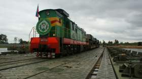 В Смоленске прошли учения железнодорожного батальона