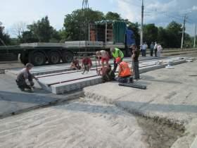 Работы по ремонту улицы Дзержинского идут с опережением графика