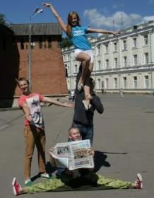 В Смоленске стартовал фотопроект Just Dance