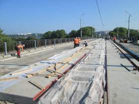 Мост откроют в августе
