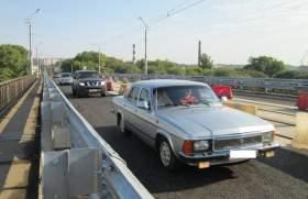 Дорожники открыли движение по мосту на ул.Дзержинского