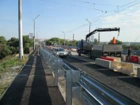 Мост - открыли, дорогу - закрыли