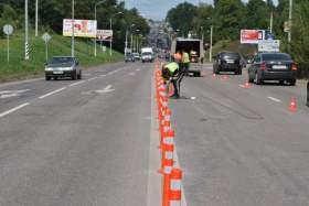 Рославльское шоссе поделили