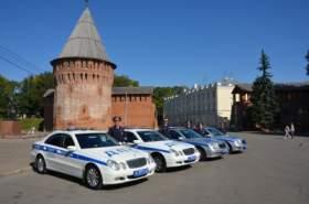 Автопарк смоленских полицейских пополнился новыми автомобилями