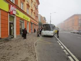 В Смоленске перенесли остановку «Улица Тухачевского»