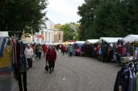 Базар в центре Смоленска