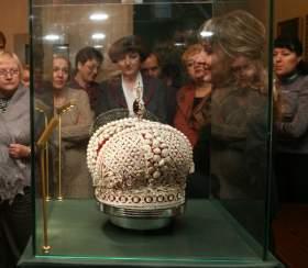 В Смоленске покажут копию Большой короны Российской империи