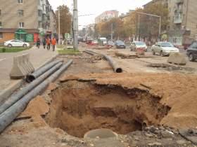 Улицу Кирова сдадут после юбилея