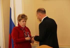 Состоялось торжественное вручение регалий «Почетный гражданин города Смоленска»