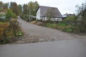 Ремонт дороги в Смоленском районе бросили на полпути