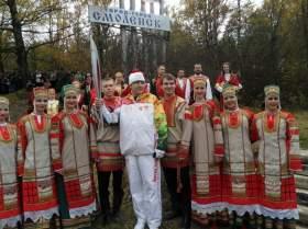 В Смоленске зажгли Олимпийские факелы