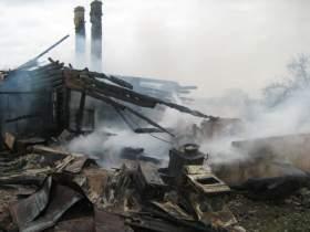 При пожаре в Сычевском районе погиб человек