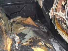 В Гагарине загорелся автомобиль