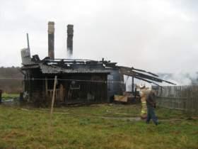 В пожаре в Вяземском районе погиб человек