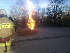 В Смоленске произошла авария на газопроводе