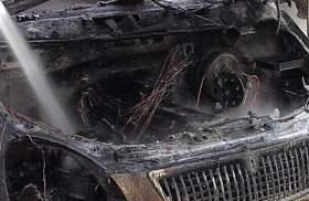 В Смоленске сгорела «Газель»
