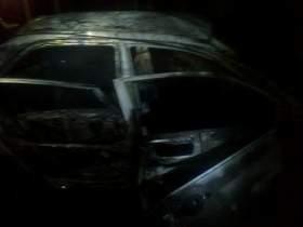 В Смоленске сгорели три иномарки