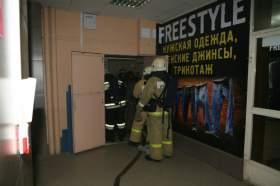 Смоленские спасатели провели учения в ТЦ «Гамаюн»
