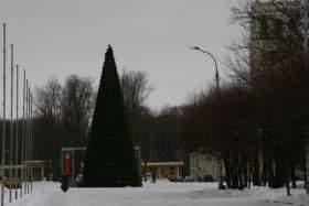 Каток на площади Ленина подвинет новогоднюю елку