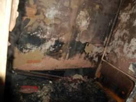 При пожаре в Краснинском районе погиб человек