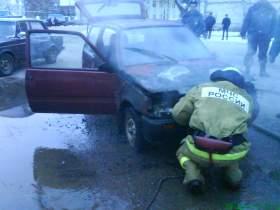 В городе Ярцево загорелась «ОКА»
