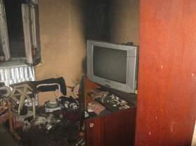 При пожаре в Дорогобужском районе погиб человек