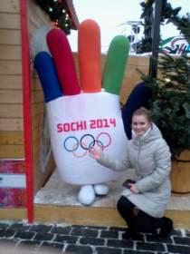 Смолянка стала волонтером Сочи-2014
