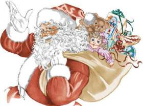 Дед Мороз, ди-джей Макар и попугаи