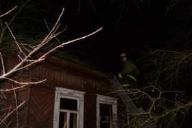 Два человека погибли при пожаре в Вязьме
