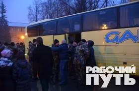 Смоленские полицейские отправились в очередную командировку на Северный Кавказ