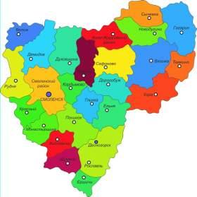 Карта года Смоленской области