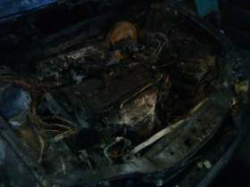 В Смоленске сгорела Toyota Corolla