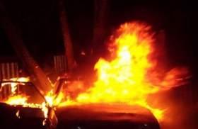 В Вязьме задержали поджигателя автомобиля