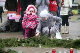 Впервые в Смоленске. «Свеча памяти - свеча надежды»