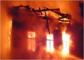 При пожаре в Смоленской области погиб человек