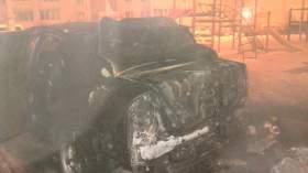 Ночью в Смоленске сгорели две иномарки