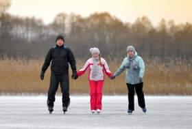 Где в Смоленске покататься на лыжах и коньках