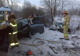 В ДТП в Смоленской области погиб человек, еще трое пострадали