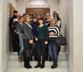 «Студенческий десант» побывал в Дежурной части областного УМВД