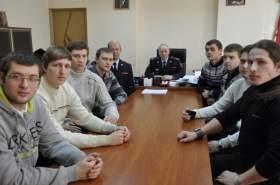 Активистов «Студенческого десанта» пригласили на службу в смоленское УМВД