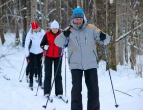 В профилактории Смоленской АЭС открыли каток и лыжную трассу
