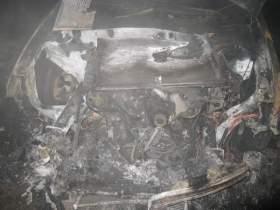 В Дорогобужском районе сгорела иномарка