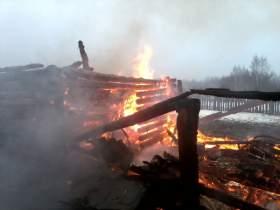 В пожаре в Дорогобужском районе погиб человек