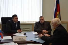 Руководитель УМВД РФ по Смоленской области провел личный прием граждан