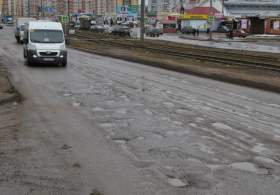 Смоленские дороги: ямка на ямке