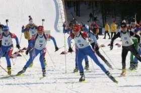 Юные смоленские биатлонисты стали чемпионами на Всероссийской зимней Спартакиаде