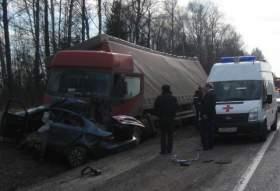 В Смоленской области в ДТП на трассе М1 погибли четыре человека